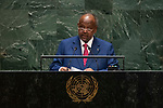 General Assembly Seventy-fourth session, 7th plenary meeting<br /> <br /> <br /> His Excellency Ismaël Omar Guelleh, President and Head of Government, Republic of<br /> Djibouti