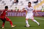 Ehsan Haji Safi of Iran (R) in action during the AFC Asian Cup UAE 2019 Group D match between Vietnam (VIE) and I.R. Iran (IRN) at Al Nahyan Stadium on 12 January 2019 in Abu Dhabi, United Arab Emirates. Photo by Marcio Rodrigo Machado / Power Sport Images