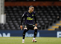 23rd May 2021; Craven Cottage, London, England; English Premier League Football, Fulham versus Newcastle United; Miguel Almiron of Newcastle United