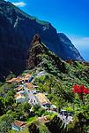 Spanien, Kanarische Inseln, Teneriffa, Masca, Bergdorf im Teno Alto Gebirge - heute beliebter Ausflugsort fuer Touristen | Spain, Canary Islands, Tenerife, Masca, mountain village at Teno Alto mountains