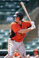 Baltimore Orioles Seamus Curran (96) during an instructional league game against the Tampa Bay Rays on September 25, 2015 at Ed Smith Stadium in Sarasota, Florida.  (Mike Janes/Four Seam Images)