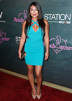HOLLYWOOD, LOS ANGELES, CA, USA - AUGUST 28: Anglea Fong arrives at the Benchwarmer Back To School Celebration to Benefit Children of the Night held at Station Hollywood at the W Hotel Hollywood on August 28, 2014 in Hollywood, Los Angeles, California, United States. (Photo by Xavier Collin/Celebrity Monitor)