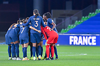 team France before the Womens International Friendly game between France and Switzerland at Stade Saint-Symphorien in Longeville-lès-Metz, France.