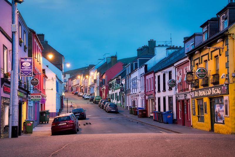 Downtown Dingle. County Kerry, Ireland