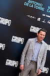 "Presentation at the Intercontinental Hotel in Madrid of the film ""Group 7"" with the presence of the actors Mario Casas, Antonio de la Torre, Inma Cuesta, Jose Manuel Poga, Joaquin Nunez, director Alberto Rodriguez, and producer Jose Antonio Fellez. In the picture: Antonio de la Torre..(Alterphotos/Marta Gonzalez)"