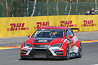 #77 Team Craft-Bamboo (HKG). LUKOIL SEAT Leon TCR. Sergey Afanasyev (RUS) .TCR Free Practice 1  as part of the WEC 6 Hours of Spa-Francorchamps 2016 at Circuit Spa-Francorchamps, Stavelot, Spa-Francorchamps, Belgium . May 05 2016. World Copyright Peter Taylor/PSP.