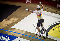 victory  for Mark Cavendish (GBR/DimensionData)<br /> <br /> 2016 Gent 6<br /> day 2