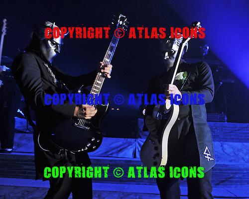 MIAMI BEACH, FL - NOVEMBER 03: Nameless Ghouls of Ghost performs at The Fillmore on November 3, 2016 in Miami Beach, Florida. Credit Larry Marano © 2016