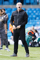 LEEDS, ENGLAND - AUGUST 31: Swansea City manager Steve Cooper shouts instructions to his players during the Sky Bet Championship match between Leeds United and Swansea City at Elland Road on August 31, 2019 in Leeds, England. (Photo by Athena Pictures/Getty Images)