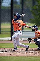 Houston Astros Taylor Jones (72) during a Minor League Spring Training Intrasquad game on March 28, 2018 at FITTEAM Ballpark of the Palm Beaches in West Palm Beach, Florida.  (Mike Janes/Four Seam Images)