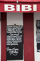 Europe/France/Aquitaine/64/Pyrénées-Atlantiques/Pays-Basque/Biarritz: Enseigne de la Rôtisserie Bibi dans le Quartier Bibi Beaurivage [Non destiné à un usage publicitaire - Not intended for an advertising use]
