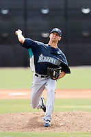 Steven Hensley -  Seattle Mariners - 2009 spring training.Photo by:  Bill Mitchell/Four Seam Images