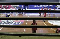 Campinas (SP), 04/11/2020 - Basquete - Vera Cruz Campinas e Sesi Araraquara se enfrentam nesta quarta-feira (04) pelo Campeonato Paulista 2020 de Basquete Feminino no Ginasio da Ponte Preta, na cidade de Campinas (SP). (Foto: Denny Cesare/Codigo 19/Codigo 19)