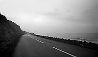 roadtripping in Northern Ireland along the northern coast roads (next to the Irish Sea)