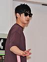 Kim Hyun-joong arrives at Tokyo International Airport