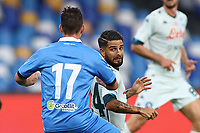 Lorenzo Insigne of SSC Napoli <br /> during the friendly football match between SSC Napoli and Pescara Calcio 1936 at stadio San Paolo in Napoli, Italy, September 11, 2020. <br /> Photo Cesare Purini / Insidefoto