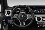 Car pictures of steering wheel view of a 2019 Mercedes Benz G-Class Base 5 Door SUV Steering Wheel