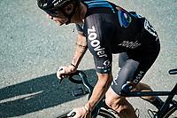 Nicolas Roche (IRE/DSM) up the Alpe di Mera finish climb<br /> <br /> 104th Giro d'Italia 2021 (2.UWT)<br /> Stage 19 from Abbiategrasso to Alpe di Mera (Valsesia)(176km)<br /> <br /> ©kramon
