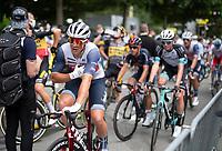 Mads Pedersen (DEN/Trek - Segafredo) at the finish<br /> <br /> Stage 4 from Redon to Fougères (150km)<br /> 108th Tour de France 2021 (2.UWT)<br /> <br /> ©kramon