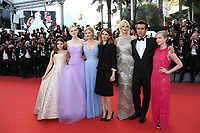 'The Beguiled' Red Carpet Arrivals - The 70th Annual Cannes Film Festival<br /> CANNES, FRANCE - MAY 24: (L-R) Angourie Rice, Colin Farrell, Nicole Kidman, director Sofia Coppola, Kirsten Dunst, Elle Fanning and Addison Riecke attend the 'The Beguiled' screening during the 70th annual Cannes Film Festival at Palais des Festivals on May 24, 2017 in Cannes, France
