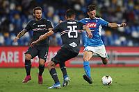 Fabian Ruiz of Napoli and Alex Ferrari of Sampdoria compete for the ball<br /> Napoli 14-9-2019 Stadio San Paolo <br /> Football Serie A 2019/2020 <br /> SSC Napoli - UC Sampdoria<br /> Photo Cesare Purini / Insidefoto