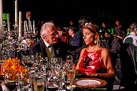 Diners at a function during Singapore Fashion Week 2013.