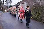 Marshfield Mummers, Boxing Day performance, Gloucestershire, England. 2006.