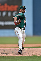 Greensboro Grasshoppers starting pitcher Sean Townsley #41 delivers a pitch during a game against the  Asheville Tourists at McCormick Field June 29, 2014 in Asheville, North Carolina. The Grasshoppers defeated the Tourists 4-0. (Tony Farlow/Four Seam Images)