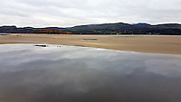 River Dwyryd as seen from Portmeirion, north Wales, UK. Saturday 29 October 2016