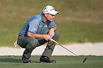 David Howell of England ponders his next move during the 58th UBS Hong Kong Golf Open as part of the European Tour on 11 December 2016, at the Hong Kong Golf Club, Fanling, Hong Kong, China. Photo by Marcio Rodrigo Machado / Power Sport Images