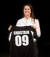 FC Gold Pride, the Bay Area franchise of Women's Professional Soccer (WPS) selected soccer icon, Brandi Chastain in the seventh round , 45th overall,  of the WPS Draft.  The draft is being held in conjunction with the National Soccer Coaches Association of America (NSCAA) Convention at America's Center Convention Complex in St. Louis.