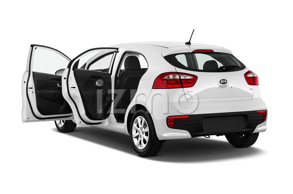 Car images of 2017 KIA Rio LX 5 Door Hatchback Doors