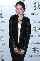 WEST HOLLYWOOD, CA - OCTOBER 24: Who What Wear And Cadillac's 50 Most Fashionable Women Of 2013 Event held at The London Hotel on October 24, 2013 in West Hollywood, California. (Photo by Xavier Collin/Celebrity Monitor)