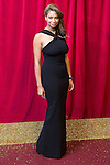© Licensed to London News Pictures . 16/05/2015 .  The Palace Hotel , Manchester , UK . Laura Rollins . The red carpet at the 2015 British Soap Awards , The Palace Hotel , Oxford Road , Manchester . Photo credit : Joel Goodman/LNP