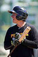 Pittsburgh Pirates Ty Moore during instructional league practice on October 2, 2015 at Pirate City in Bradenton, Florida.  (Mike Janes/Four Seam Images)