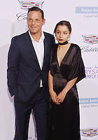 BRENTWOOD, CA - JUNE 11: Actor Justin Chambers and daughter Kaila Chambers arrive at the 15th Annual Chrysalis Butterfly Ball at a private residence on June 11, 2016 in Brentwood, California.