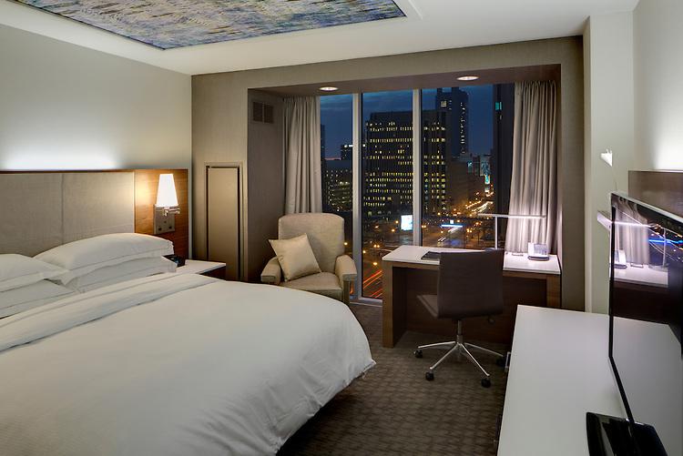 Hilton Downtown Columbus | Architects: HOK & Moody Nolan | Construction: Turner Construction & Smoot Construction