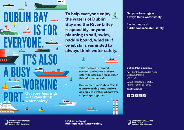 Dublin Port's new water safety flyer