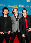 Green Day at the 2004 Billboard Music Awards at the MGM Grand in Las Vegas, December 8th 2004.