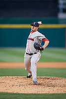 Pawtucket Red Sox relief pitcher Chandler Shepherd (30) during a game against the Buffalo Bisons on May 19, 2017 at Coca-Cola Field in Buffalo, New York.  Buffalo defeated Pawtucket 7-5 in thirteen innings.  (Mike Janes/Four Seam Images)