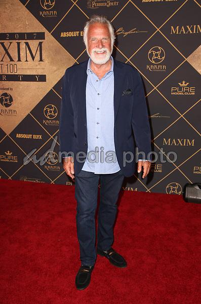 25 June 2017 - Hollywood, California - Jonathan Goldsmith. 2017 MAXIM Hot 100 Party held at the Hollywood Palladium. Photo Credit: F. Sadou/AdMedia