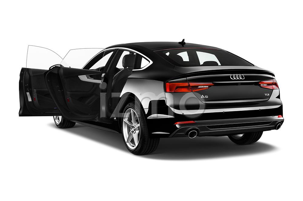 Car images close up view of 2017 Audi A5 Sportback Premium 5 Door Hatchback doors
