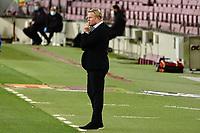 27th September 2020; Camp Nou, Barcelona, Catalonia, Spain; La Liga Football, Barcelona versus Villareal; New Manager of Barca, Ronald Koeman