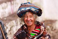 Guatemala, Chichicastenango,  old Maya  woman portraits
