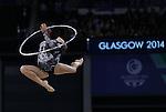 Glasgow 2014 Commonwealth Games<br /> <br /> Francesca Jones (Wales) competing in the women's Individual Rhythmic Gymnastics Apparatus Final.<br /> <br /> 25.07.14<br /> ©Steve Pope-SPORTINGWALES