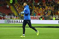 Torwart Kamran Agayev (Aserbaidschan) - 08.10.2017: Deutschland vs. Asabaidschan, WM-Qualifikation Spiel 10, Betzenberg Kaiserslautern