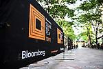 Branding - Bloomberg Square Mile Relay Tokyo 2018
