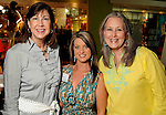 From left: Janet McCloskey, Tanya Ellenberg and Mary Kathryn Cooper at the University of Texas M.D. Anderson Cancer Center and The Galleria's Back to School Fashion Show benefitting pediatric cancer patients at The Galleria Saturday August 25,2012.(Dave Rossman Photo)