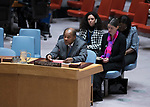 Security Council Considers Developments in West Africa and Sahel<br /> Mohammed Ibn Chambas, Special Representative of the Secretary-General and Head of the United Nations Office for West Africa and the Sahel (UNOWAS), briefs the Security Council.