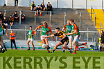 during the Kerry County Senior Football Championship Semi-Final match between Mid Kerry and Dr Crokes at Austin Stack Park in Tralee, Kerry.